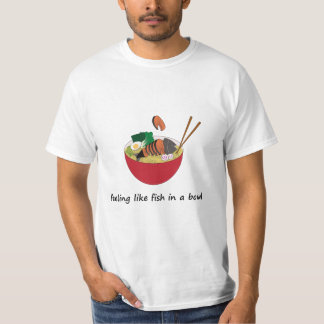 Fish in a bowl Value T-Shirt