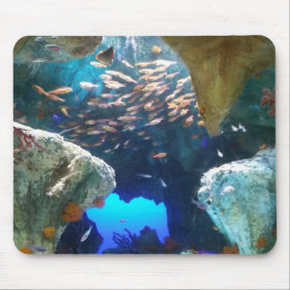 Fish in Aquarium mouse pad