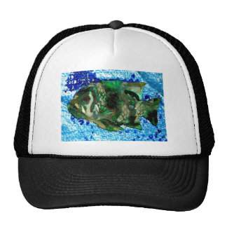 fish in Blue Water Mesh Hat