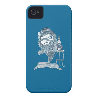 Fish in Costume iPhone 4 Cover