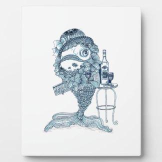 Fish in Costume Plaque