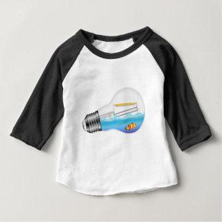 Fish in Lightbulb Baby T-Shirt