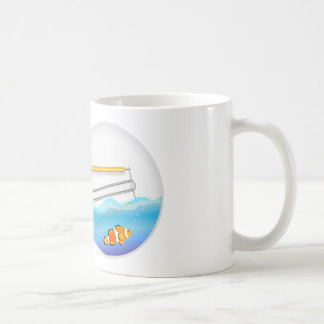 Fish in Lightbulb Coffee Mug