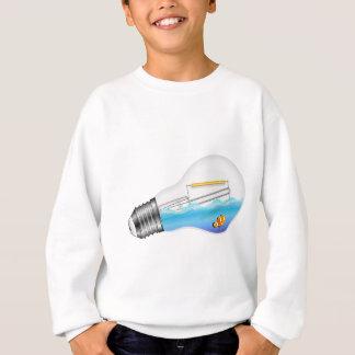 Fish in Lightbulb Sweatshirt