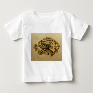 fish in plate baby T-Shirt