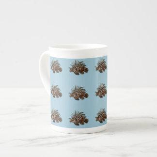 Fish lionfish aquatic seawater aquarium bone china mug