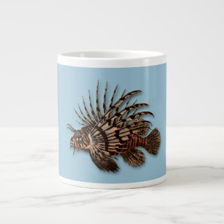 Fish lionfish aquatic seawater aquarium jumbo mug