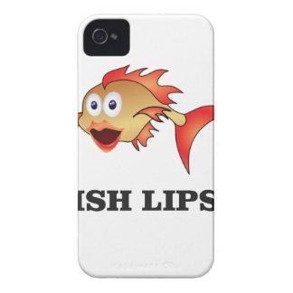 fish lips iPhone 4 case
