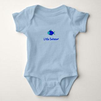 Fish, Little Swimmer Baby Bodysuit