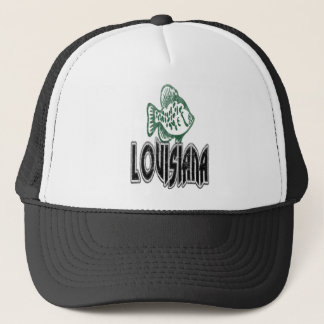 FISH LOUISIANA VINTAGE LOGO TRUCKER HAT
