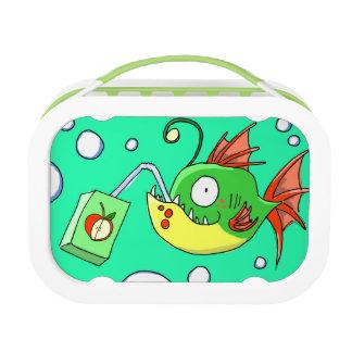 Fish Love Apple Juice Lunch Box