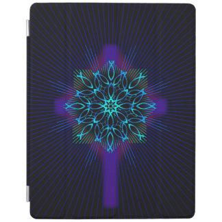 Fish Mandala and Cross iPad Cover