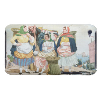 Fish Market by the Sea, c.1860 (oil on canvas) Case-Mate iPod Touch Case