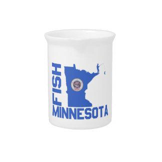 Fish Minnesota Pitcher