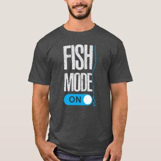 Fish Mode On T-Shirt