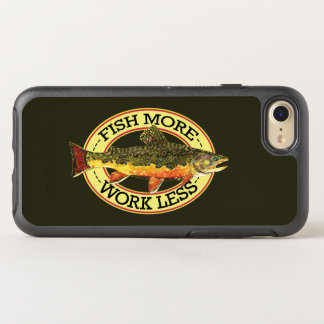 FISH MORE - WORK LESS OtterBox SYMMETRY iPhone 8/7 CASE