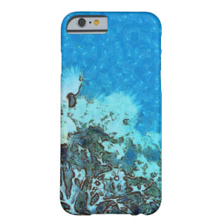 Fish moving over the reef barely there iPhone 6 case