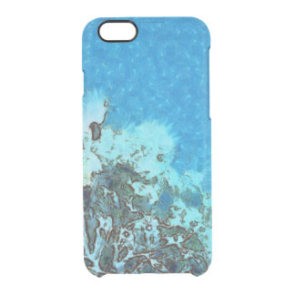 Fish moving over the reef clear iPhone 6/6S case