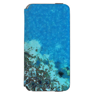 Fish moving over the reef incipio watson™ iPhone 6 wallet case