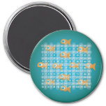 Fish Multiplication Table (3 inch) Magnet