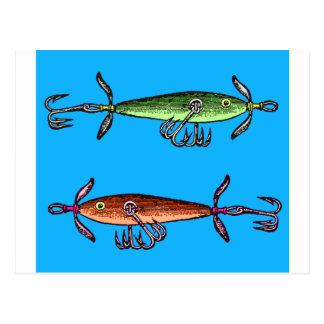 Fish N time Postcard