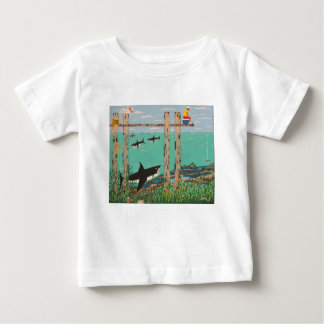 Fish Not Biting Today. Baby T-Shirt