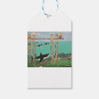 Fish Not Biting Today. Gift Tags