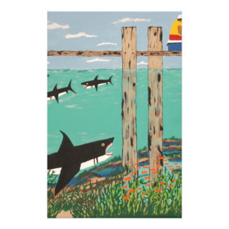 Fish Not Biting Today. Personalized Stationery