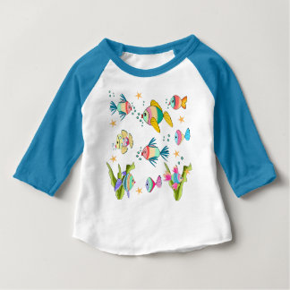 fish of colors baby T-Shirt