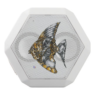 "Fish of opus number 20151028000c ""machine"" white bluetooth speaker"