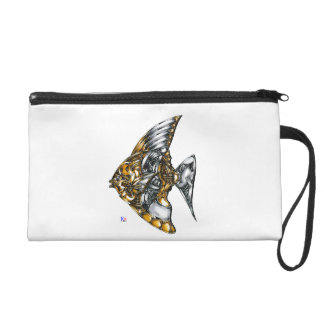 "Fish of opus number 20151028000c ""machine"" wristlet"