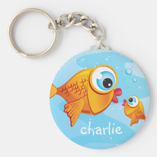 FISH - Olive Pickle Keychains