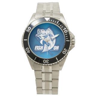 Fish On (Bass) Wristwatches