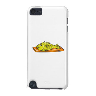 Fish On Chopping Board Cartoon iPod Touch (5th Generation) Cover