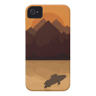 Fish on lake Case-Mate iPhone 4 cases
