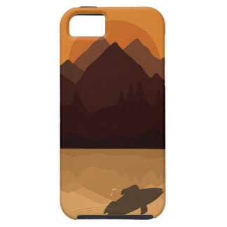 Fish on lake iPhone 5 covers