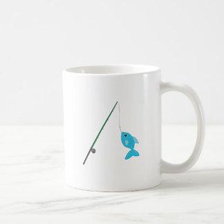 Fish On Pole Coffee Mug