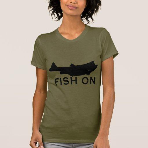 Fish On Shirt