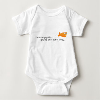 Fish Out of Water Baby Bodysuit