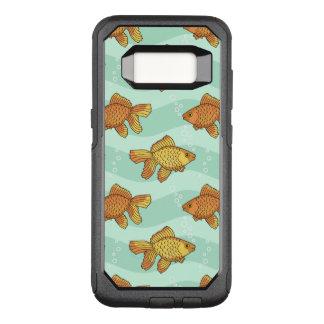 Fish-pattern OtterBox Commuter Samsung Galaxy S8 Case