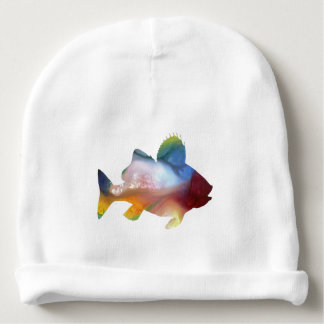 Fish (Perch) Art Baby Beanie