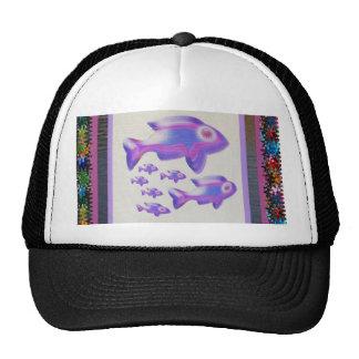 FISH Pet Aquarium Decorations KIDS Room Fun GIFTS Trucker Hats
