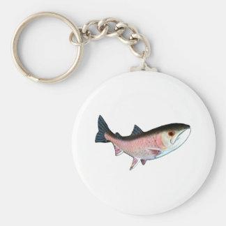 Fish PinkThe MUSEUM Zazzle Gifts Keychains