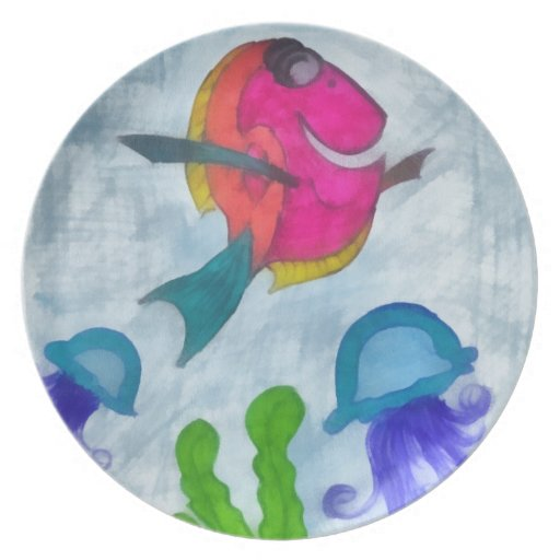 Fish Party Plates