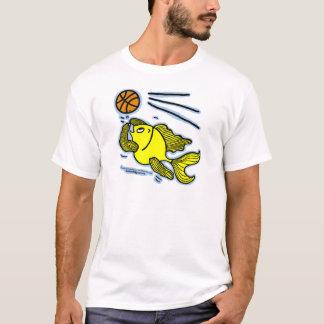 Fish Playing Basketball T-Shirt