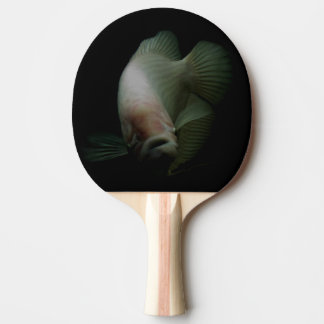 Fish Portrait Ping Pong Paddle