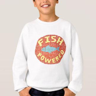 Fish powered sweatshirt