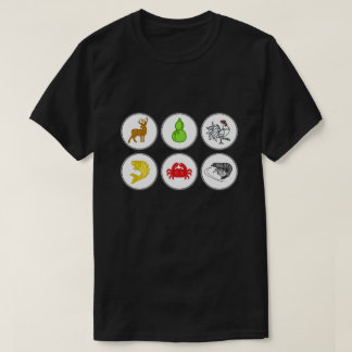Fish Prawn Crab Vietnamese Dice Game Shirt