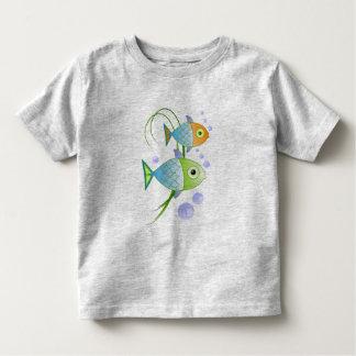 """Fish say """"blob"""" tee shirts"""