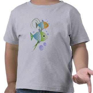 """Fish say """"blob"""" tee shirt"""